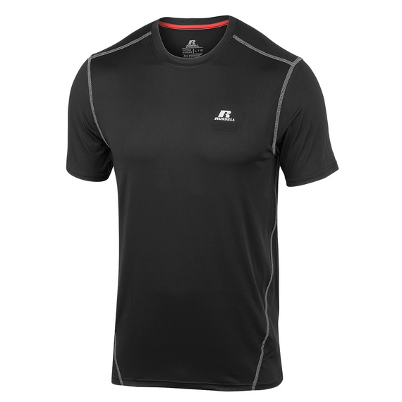 Men's Short-Sleeve Fitted Crew